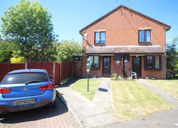 Thumbnail 1 bed town house for sale in Harrison Close, Twyford, Reading