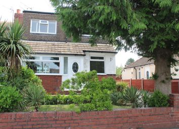 Thumbnail 3 bed semi-detached bungalow for sale in Greenhill Avenue, Shaw, Oldham