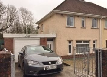 Thumbnail 3 bed semi-detached house for sale in Heol-Y-Mynydd, Sarn, Bridgend.