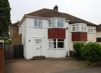Thumbnail 4 bed semi-detached house for sale in Gillian Avenue, Aldershot