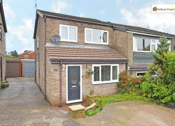 Thumbnail 3 bed semi-detached house for sale in Normanton Grove, Adderley Green, Stoke-On-Trent