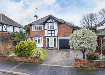 Thumbnail 4 bed detached house to rent in Melvinshaw, Leatherhead