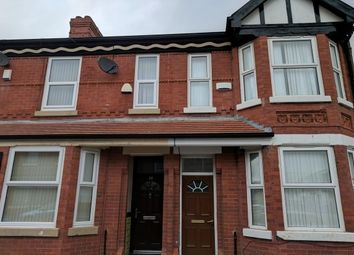 Thumbnail 3 bed terraced house to rent in Beveridge Street, Rusholme