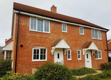 Thumbnail 3 bed semi-detached house to rent in Ambrose Way, Romsey