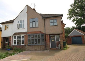 Thumbnail 3 bed semi-detached house to rent in Vale Croft, Pinner
