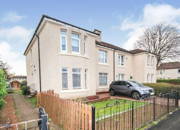 Thumbnail 3 bed flat for sale in Dunwan Avenue, Glasgow