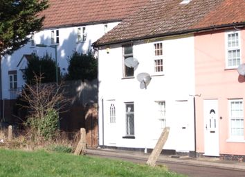 Thumbnail 2 bedroom end terrace house to rent in Mill Road, Saxmundham, Suffolk
