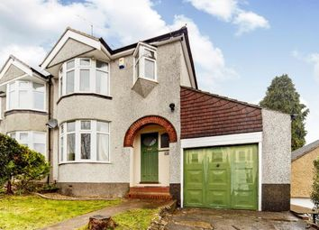 Thumbnail 3 bed semi-detached house for sale in Hillcrest Road, Whyteleafe, Surrey
