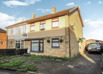 Thumbnail 3 bedroom semi-detached house for sale in Queen Street, Yaxley, Peterborough