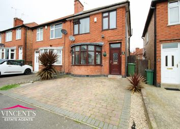 Thumbnail 3 bed semi-detached house for sale in Henley Crescent, Braunstone Town, Leicester