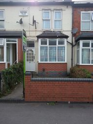 Thumbnail 3 bed terraced house to rent in Farndon Road, Birmingham