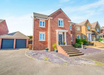 Thumbnail 5 bed detached house for sale in Heol Cwarrel Clark, Caerphilly