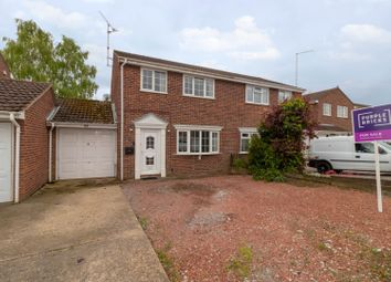 Thumbnail 3 bed semi-detached house for sale in Swift Close, Market Deeping, Peterborough