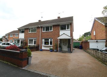 Thumbnail 3 bed semi-detached house for sale in The Lawns, Rolleston-On-Dove, Burton-On-Trent