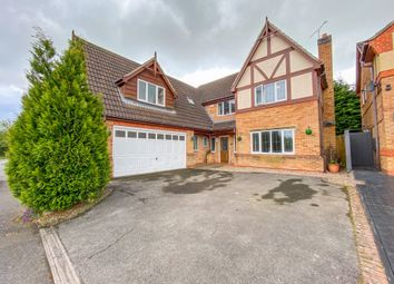 Thumbnail 5 bed detached house for sale in Spinneybrook Way, Mickleover, Derby