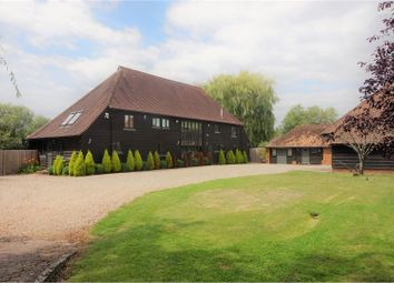 Thumbnail 4 bed detached house for sale in Etchden Court, Ashford