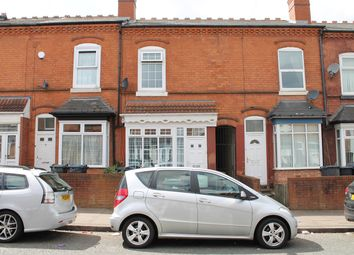 Thumbnail 3 bed terraced house for sale in Woodstock Road, Handsworth, Birmingham