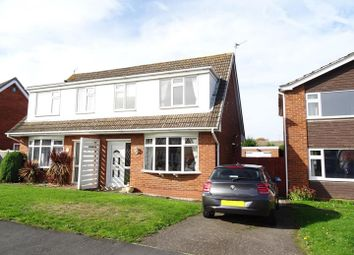 Thumbnail 3 bed semi-detached house for sale in Conway Drive, Shepshed, Loughborough