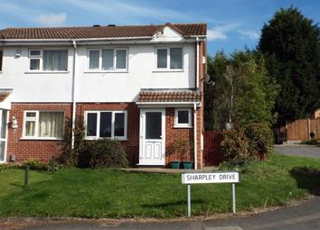 Thumbnail 3 bedroom semi-detached house for sale in Sharpley Drive, Leicester