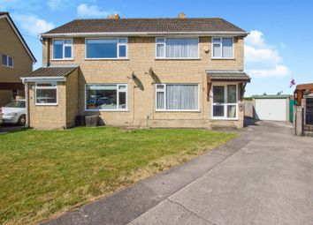 Thumbnail 3 bedroom semi-detached house for sale in Somerset Crescent, Stoke Gifford, Bristol