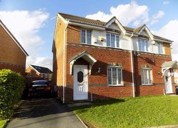 Thumbnail 3 bed semi-detached house for sale in Lees Park Avenue, Droylsden, Manchester
