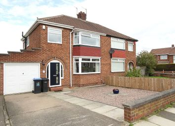 Thumbnail 3 bed semi-detached house for sale in The Oval, Middlesbrough, North Yorkshire