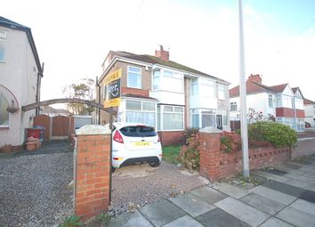 Thumbnail 4 bed semi-detached house for sale in Norcliffe Road, Blackpool
