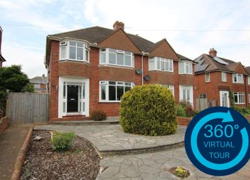 Thumbnail 3 bed semi-detached house for sale in Pinhoe Road, Exeter