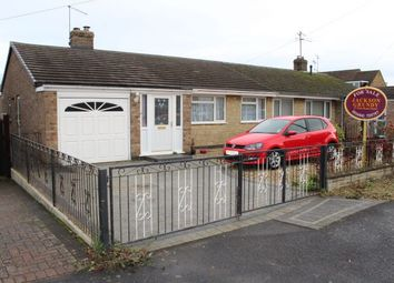 Thumbnail 3 bed semi-detached bungalow for sale in Winston Close, Nether Heyford, Northampton