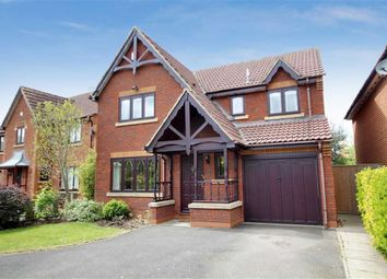 Thumbnail 4 bedroom detached house for sale in Juno Way, Rushy Platt, Swindon
