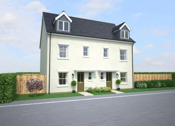 Thumbnail 4 bedroom semi-detached house for sale in Off Gilbert Road, Bodmin, Cornwall