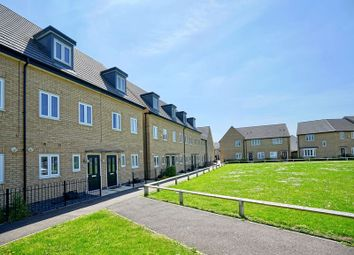 Thumbnail 3 bed terraced house for sale in Meadow Gardens, Huntingdon, Cambridgeshire.