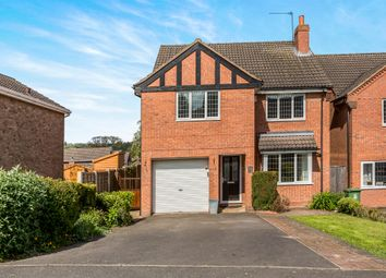 Thumbnail 4 bed detached house for sale in Park Close, Kilburn, Belper