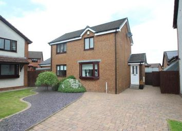 Thumbnail 3 bed detached house for sale in Burnwood Drive, Airdrie, North Lanarkshire