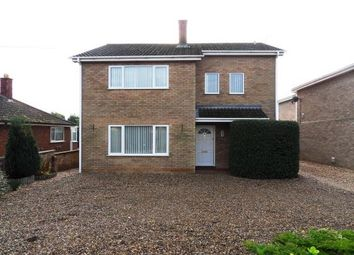 Thumbnail 4 bed detached house to rent in Cemetery Road, Lakenheath, Brandon