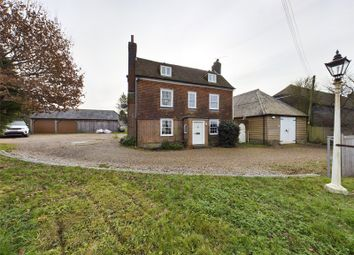 Thumbnail 4 bed detached house for sale in Homewell House, Maidstone Road, Sutton Valence, Maidstone