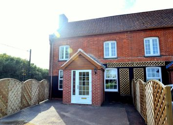 Thumbnail 2 bedroom end terrace house for sale in Bury Road, Hepworth, Diss