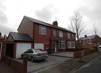 Thumbnail 4 bedroom semi-detached house to rent in Hazel Avenue, North Shields
