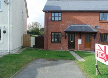 2 bed semi-detached house for sale in Tudor Gardens, Merlins Bridge, Haverfordwest SA61