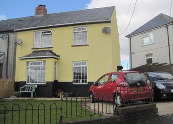 Thumbnail 3 bed semi-detached house for sale in Brynawelon Coelbren, Neath, Neath Port Talbot.