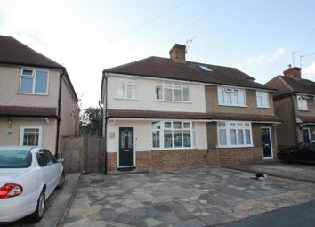 Thumbnail 3 bed semi-detached house to rent in Garden Close, Addlestone
