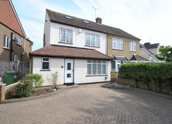 Thumbnail 4 bed semi-detached house for sale in Millcrest Road, Goffs Oak, Waltham Cross