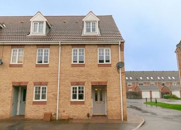 Thumbnail 3 bed town house to rent in Curbar Close, Mansfield