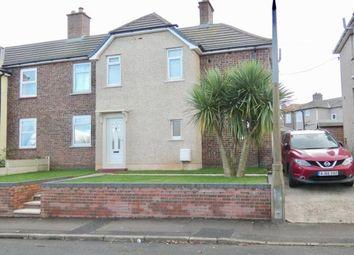 Thumbnail 3 bed semi-detached house for sale in Park View, Egremont, Cumbria