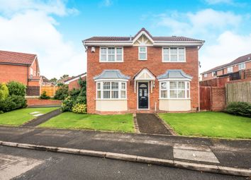 Thumbnail 4 bed detached house for sale in Marlpool Drive, Pelsall, Walsall