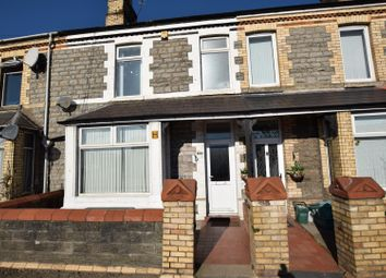 Thumbnail 3 bed terraced house for sale in Churchill Terrace, Barry