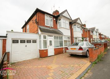 Thumbnail 3 bed semi-detached house for sale in Kirkland Road, Leicester