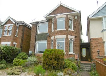 Thumbnail 3 bed detached house to rent in Park Lake Road, Poole