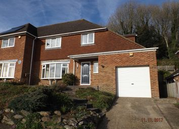 Thumbnail 4 bed detached house to rent in North Road, Hythe