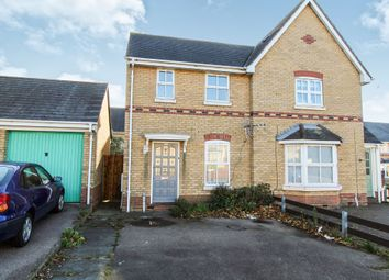 Thumbnail 2 bed semi-detached house for sale in Berkley Close, Highwoods, Colchester